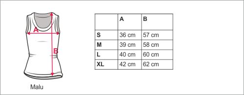 storlekstabell Malu